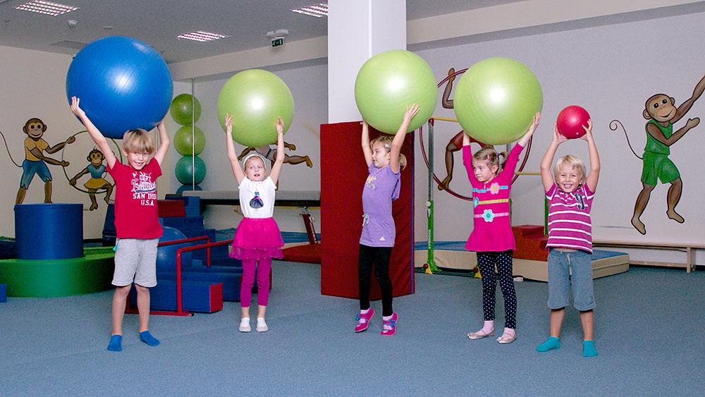 Monkey´s Gym - cvičení s overballem