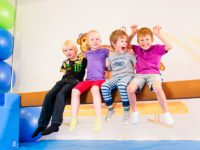 Mnohem lepší je dopřát dětem nejprve všeobecnou pohybovou průpravu. Foto: www.monkeysgym.cz