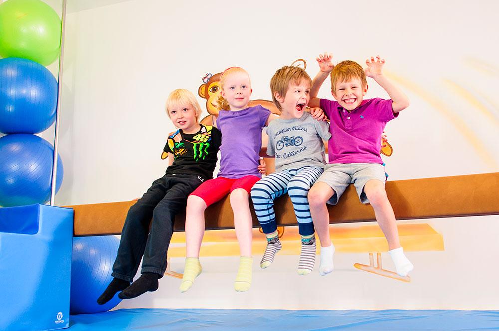 Děti Monkey´s Gym