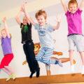 Cvičení dětí Monkeys Gym