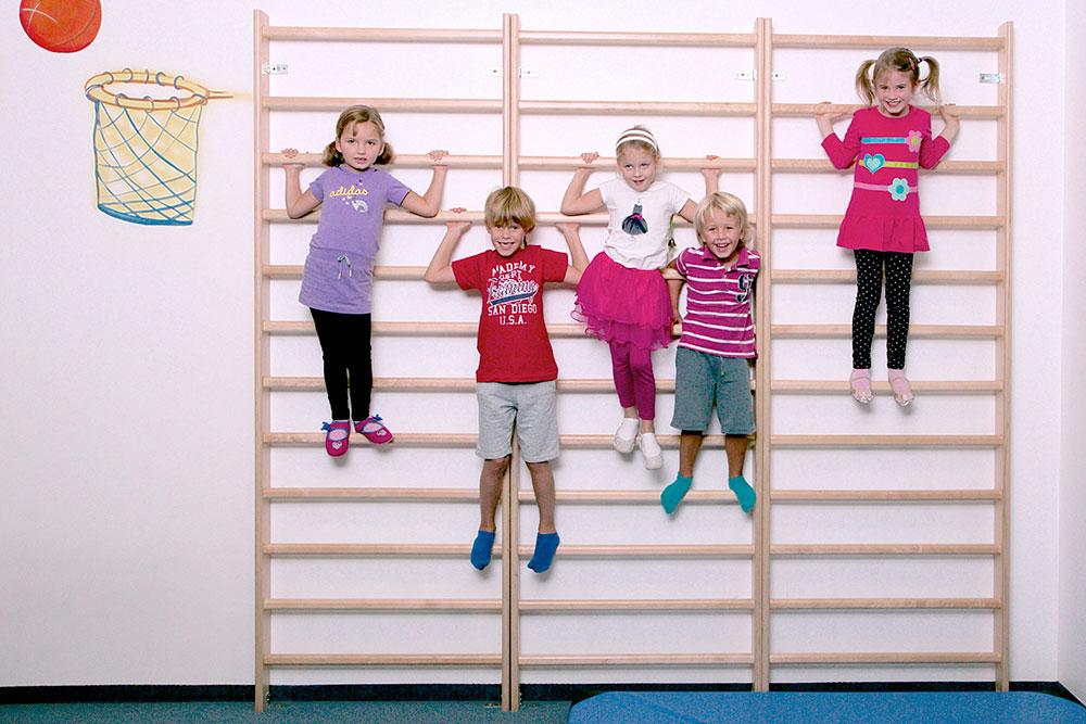 Monke´y Gym - děti na žebřinách