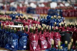 Moravská vína před degustací