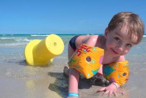Jak naučit dítě plavat