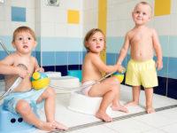 Na kurzu plavání je otužování součástí lekcí. Foto: www.juklik.cz