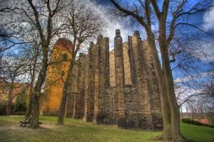 Panenský Týnec, nedostavěný gotický chrám, Malý dobrodruh