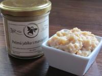 Jablka a marcipán tvoří skvělou kombinaci. Foto: www.nebespan.cz