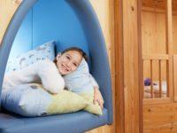 Tenhle pokojíček ocení hlavně děti. Foto: www.dachsteinkoenig.at