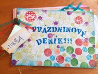 Prázdninový deníček bude krásnou vzpomínkou na léto. Foto: www.aladine.cz