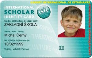 scholar, ISIC, cestovní, pojištění, Malý dobrodruh