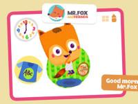 S lišákem Foxem bude vaše děti poznávání hodin bavit.