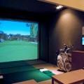 simulátor, golf, zámek Napajedla, Malý dobrodruh