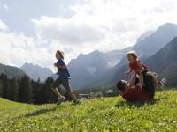 Jižní Tyrolsko je ideální místo pro aktivní dovolenou s dětmi.