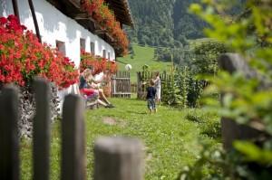 Jižní Tyrolsko, dovolená na statku, Malý dobrodruh