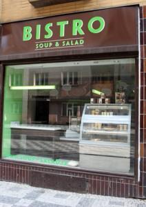 Bistro Soup & Salad, restaurace, rodina, Malý dobrodruh