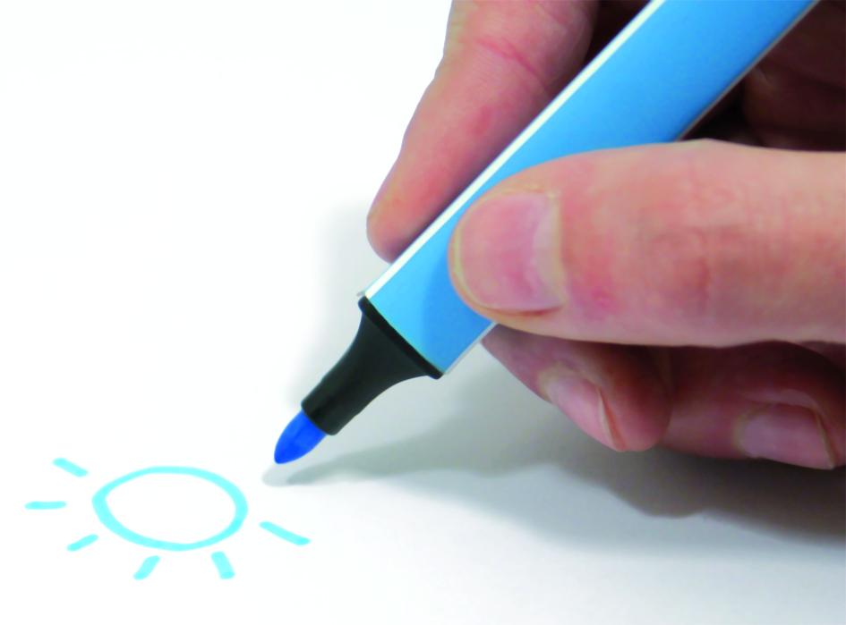 Správný úchop psacího náčiní