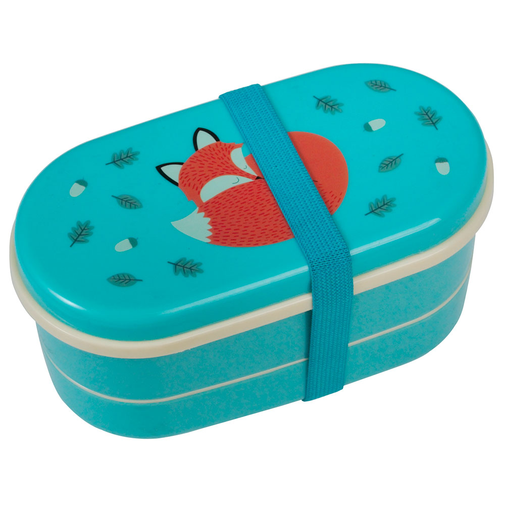 Trojdílný dětský svačinový box Rusty the Fox