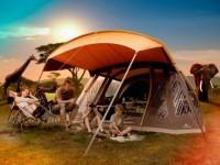 Dovolenou pod stanem si může užít celá rodina. Foto: www.4camping.cz
