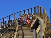 Mezi stovkou atrakcí v Europa Parku vynikají zejména obří horské dráhy.