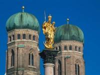 Frauenkirche vyniká svými dvěma kupolemi. Foto: Deutsche Zentrale für Tourismus e.V. /Kiedrowski, Rainer