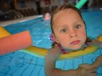 To nejdůležitější jsou ovšem v Larimaru jeho termální bazény. Teplé a pod hladinou hraje hudba! naše dcerky to vyzkoušely všechno... Foto Amaze.cz