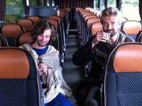 Cyril a Metoděj se vydali ne Velkou Moravu autobusem - tak tomu aspoň je v nových reklamních spotech autobusového dopravce Eurolines...