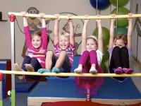 Děti při cvičení. Foto: www.monkeysgym.cz