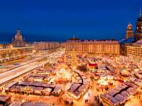 Jedny z nejstarších vánočních trhů jsou v Drážďanech. Foto: German National Tourist. Sylvio Dittrich