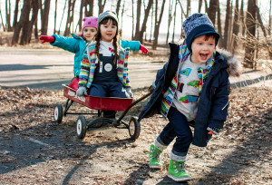 Děti v lese, Malý dobrodruh