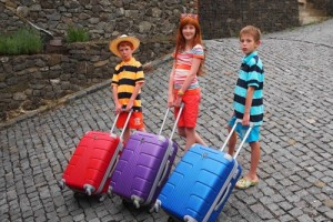 děti s kufrem, Malý dobrodruh