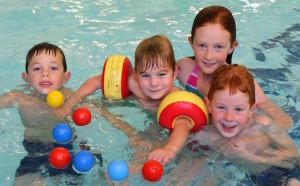 plavání s dětmi, Malý dobrodruh