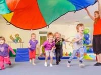 Lekce unikátního cvičení pro děti. Foto: www.monkeysgym.cz