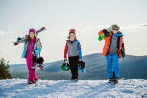 Děti na horách