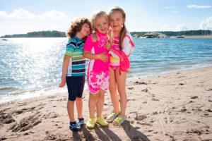 Děti na pláži, Malý dobrodruh