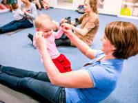 Správné cvičení ovlivňuje i správný vývoj miminek. Foto: www.monkeysgym.cz
