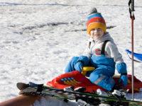 V Kašperských Horách mají nový formát lyžařských školek all inclusive. Foto: www.nebespan.cz