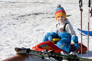 Děti na lyžích