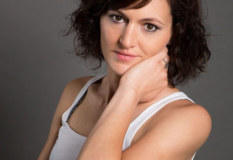 Instruktorka cvičení pro těhotné Eva Kašíková z Monkey´s Gym. Foto: www.monkeysgym.cz
