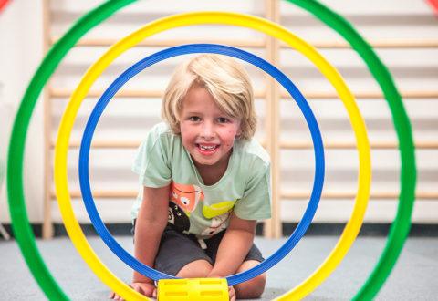 Důležité je, aby se děti při sportu cítili pohodlně a v pohodě. Foto: www.monkeysgym.cz
