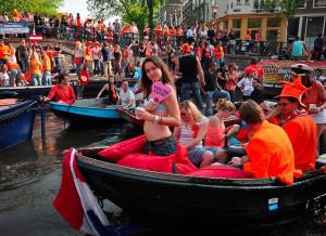 Den krále v Amsterdamu, Malý dobrodruh