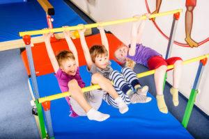 Gymnastika je pro rozvoj dětí velmi důležitá. Foto: www.monkeysgym.cz