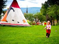 Děti si zařádí jako indiáni. Foto: www.fotoguru.cz